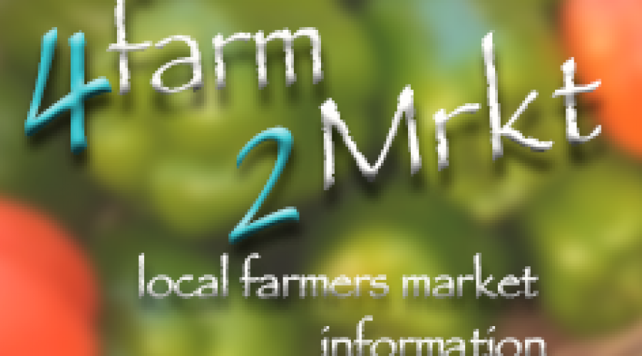 4farm2Mrkt, Local Farmers Market Information