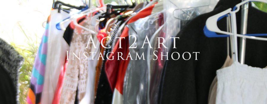 Act2Art Instagram Shoot