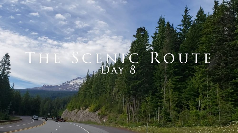the Scenic Route Day 8 Mt Hood