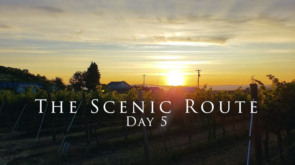 The Scenic Route Day 5 with Crushed Grape Chronicles