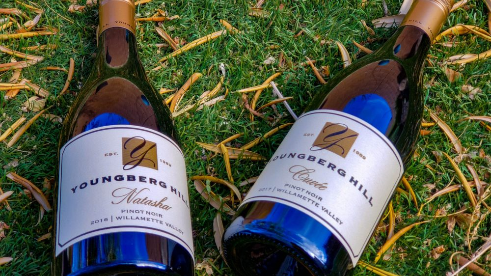Youngberg Hill Reminiscing and Making New Memories with 2 Youngberg Hill Pinot Noirs