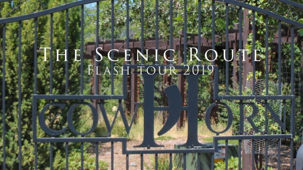 the Scenic route Cowhorn Vineyard with Crushed Grape Chronicles